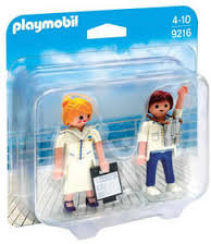 Playmobil 9216 - Cruise Ship Officers - Box
