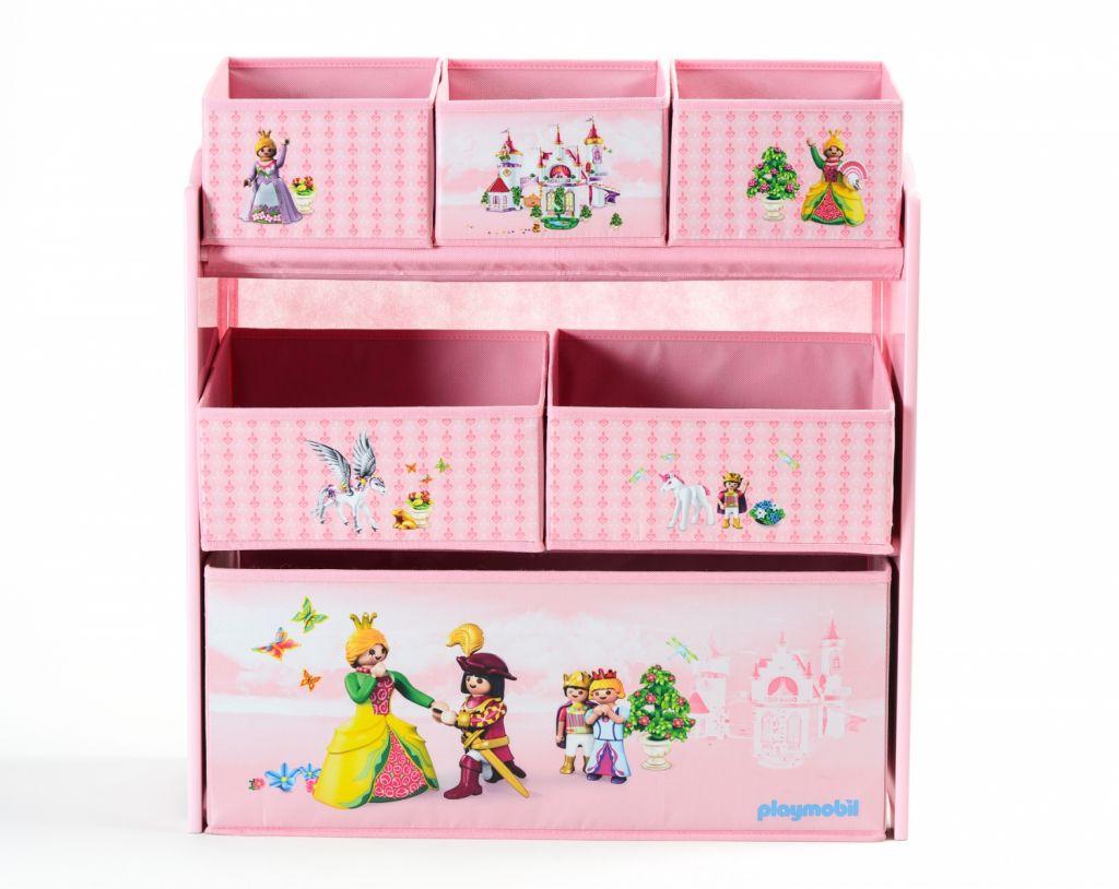 Playmobil 00000 - Princesses Storage Shelf - Back
