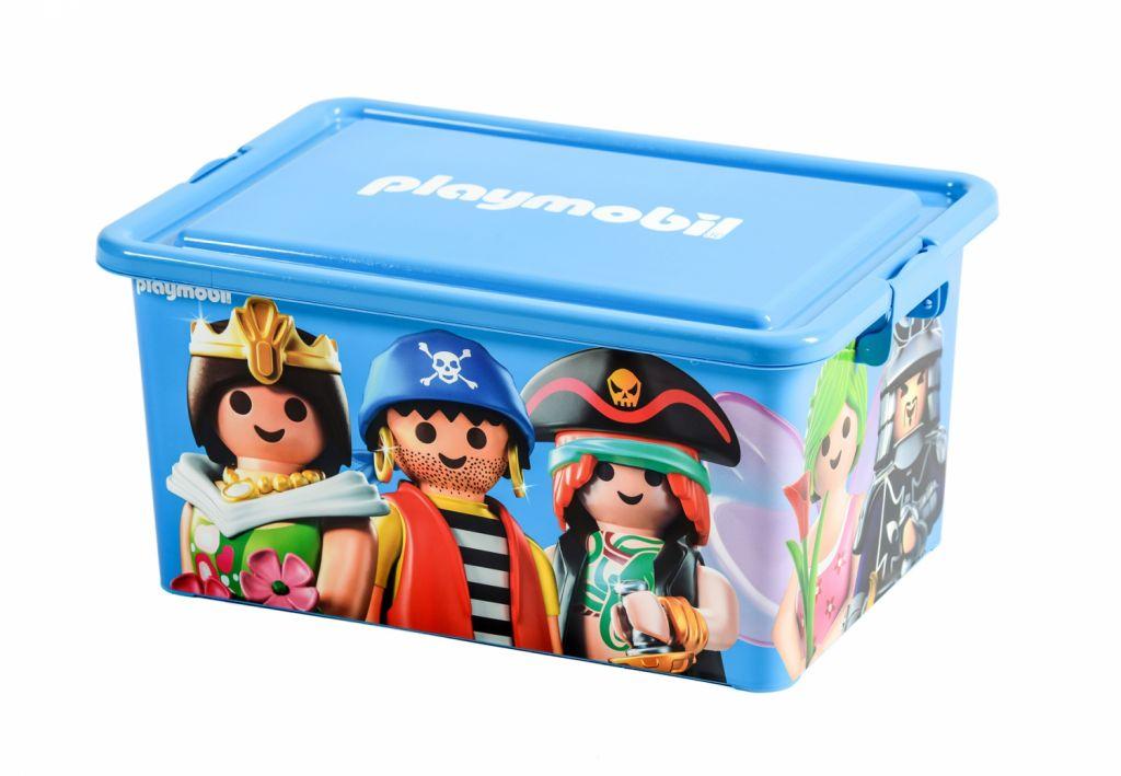 Playmobil 00000 - 23L Storage Box + Compartment Case - Mix - Box