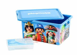 Playmobil - 00000 - 23L Storage Box + Compartment Case - Mix