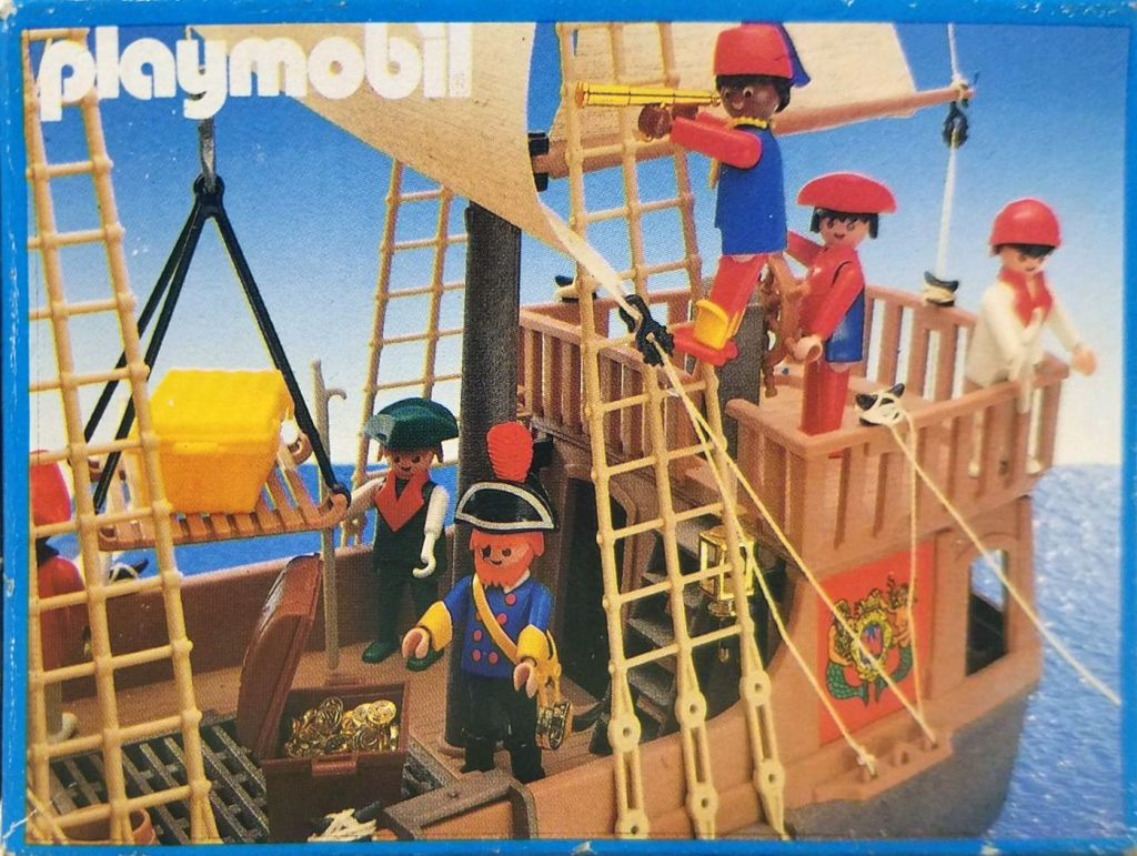 Playmobil 3382-esp - pirate captain - Box
