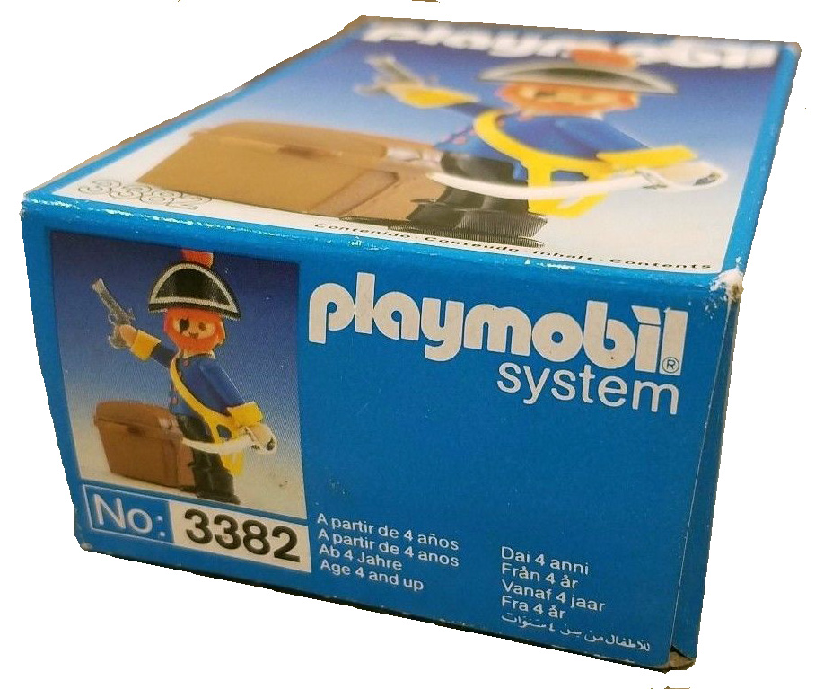 Playmobil 3382-esp - pirate captain - Back