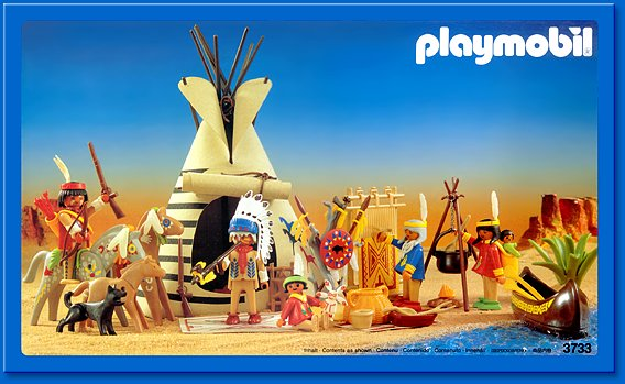 Playmobil Set 3733 Indian Camp Klickypedia
