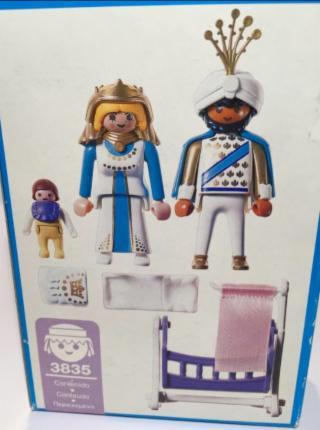Playmobil 3835 - Prince & Princess - Back