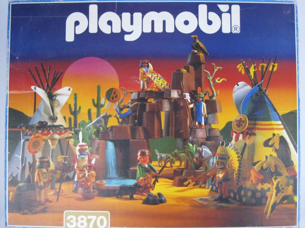 Playmobil 3870 - Camp Thunder - Box