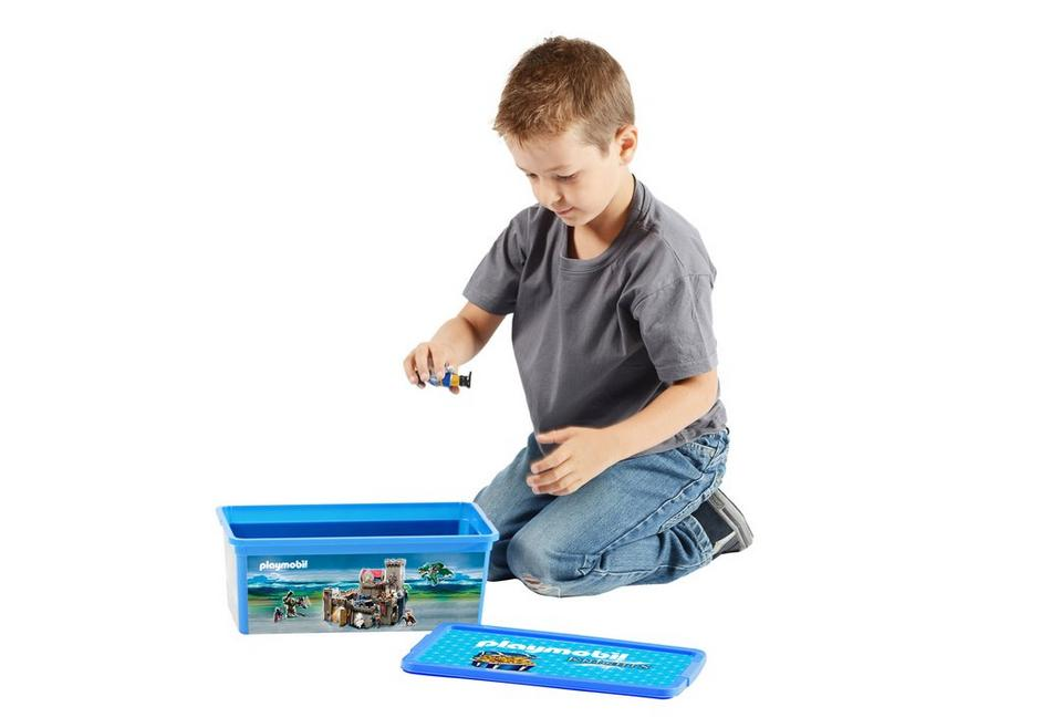 Playmobil 80489 - 6L Storage Box - Knights - Back