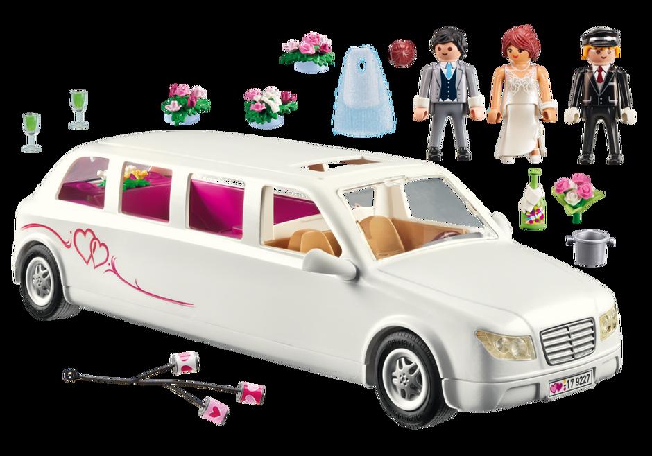 Playmobil 9227 - Wedding Limo - Back