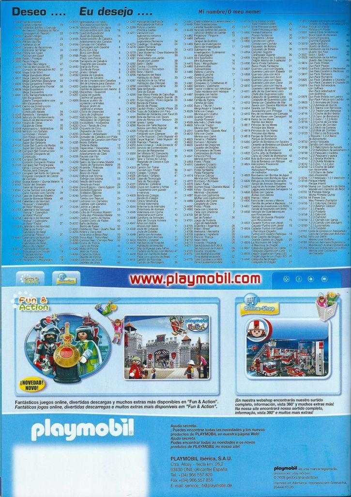 Playmobil 85444/10.09-esp - Catálogo 2010 + Catálogo DS - Box