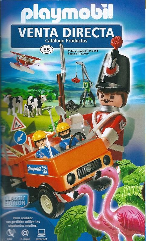Playmobil 85444/10.09-esp - Catálogo 2010 + Catálogo DS - Back