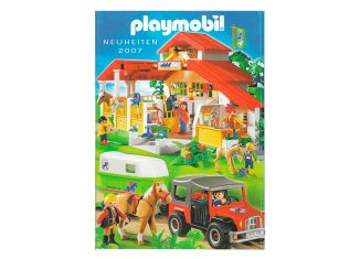 Playmobil - 30840256/01.2007-ger - Neuheiten Katalog 2007