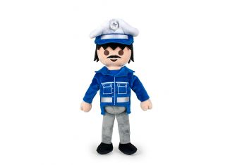 Playmobil - 00000 - Stuffed Policeman (20 cm.)
