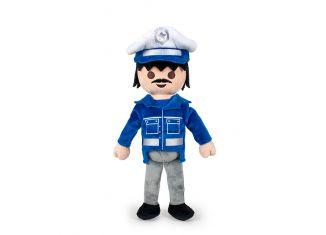 Playmobil - 00000 - Stuffed Policeman (20 cm.)