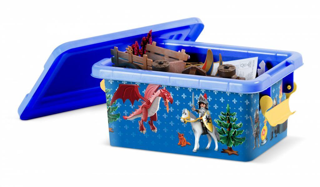 Playmobil 00000 - 3,7L Storage Box - Knights - Box