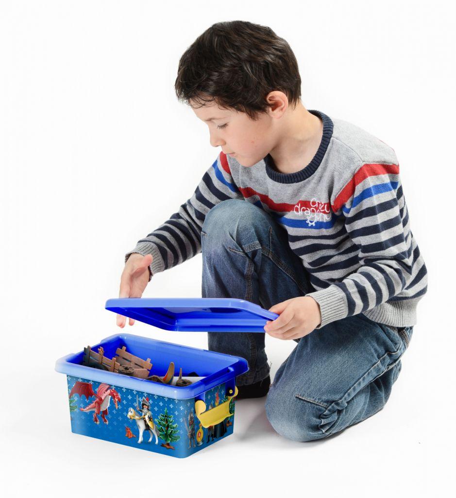 Playmobil 00000 - 3,7L Storage Box - Knights - Back