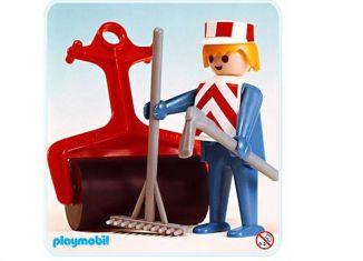 Playmobil - 3314v1 - Construction Worker