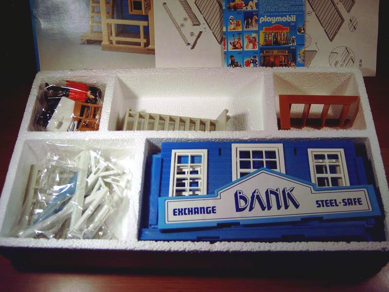 Playmobil 3422v2-lyr - Bank - Back
