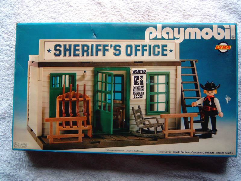 Playmobil 3423 Lyr Sheriff S Office