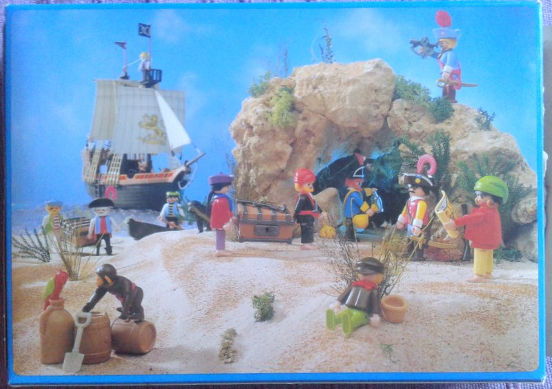 Playmobil 3794v1 - Pirates - Back