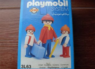 Playmobil - 3L63-lyr - Travelers