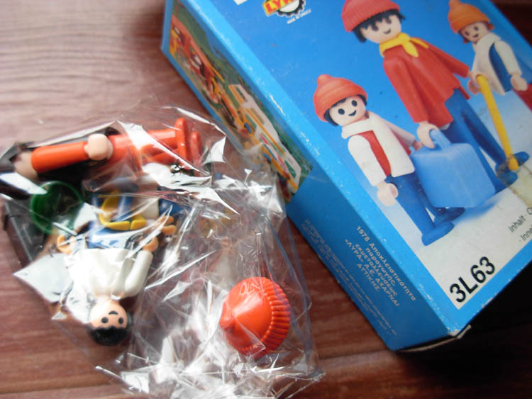 Playmobil 3L63-lyr - Travelers - Box