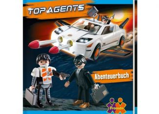 Playmobil - ABENTEUERBUCH - adventure book top agents