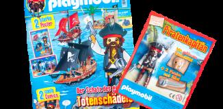 Playmobil - R021-30798933-esp - Capitán Pirata ( Revista nº 21)