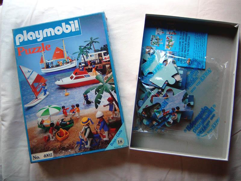 Playmobil 4002 - Playmobil Puzzle lyra 4002 - Box