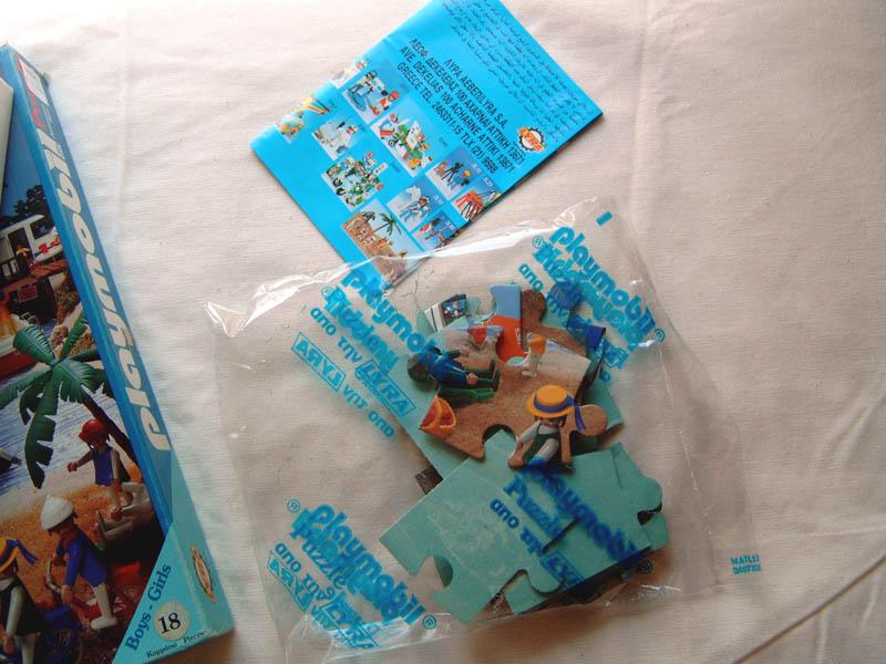 Playmobil 4002 - Playmobil Puzzle lyra 4002 - Back