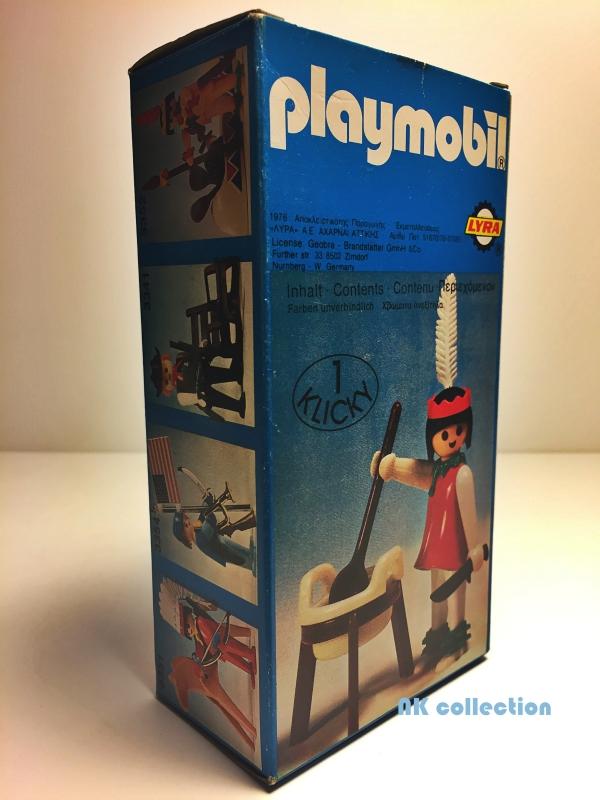 Playmobil 3355v2-lyr - 3355 squaw LYRA - Box