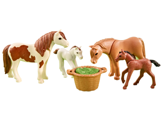 Playmobil - 6534 - Ponies with foals