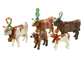 Playmobil - 6535 - Alpine cows