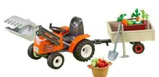 Playmobil - 6537 - Compact Front Loader with Trailer