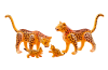 Playmobil - 6539 - Leopard family