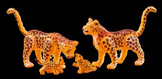 Playmobil - 6539 - Leopard family