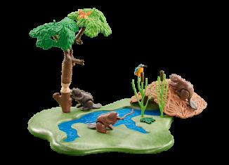 Playmobil - 6541 - Beaver Lodge