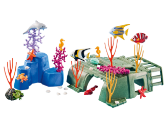Playmobil - 6545 - Coral reef with marine animals