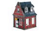 Playmobil - 7785 - Red Framework House