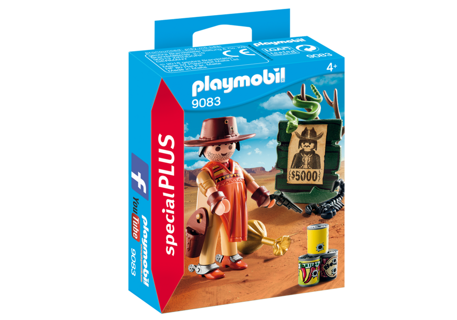 Playmobil 9083 - Cowboy with Wanted Poster - Box