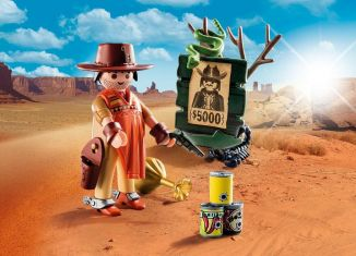 Playmobil - 9083 - Cowboy with Wanted Poster