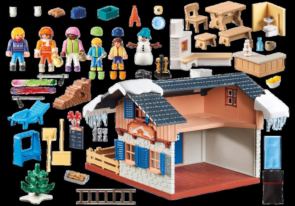 Playmobil set 9280 alpine house klickypedia - Toutes les maisons playmobil ...