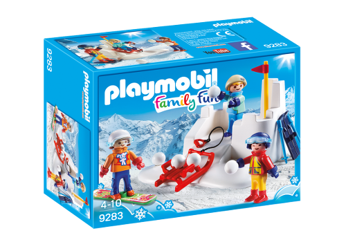 Playmobil 9283 - Snow fight - Box