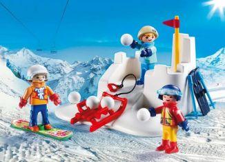 Playmobil - 9283 - Snow fight
