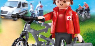 Playmobil - 9445-net - Rode Kruis-biker Ehbo Evenementen