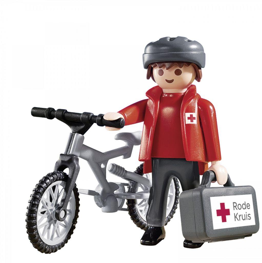 Playmobil 9445-net - Rode Kruis-biker Ehbo Evenementen - Back