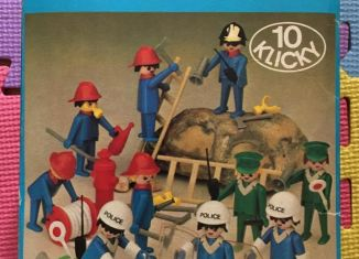 Playmobil - 3232 + 3234-fra - Policemen + Firemen France loisirs