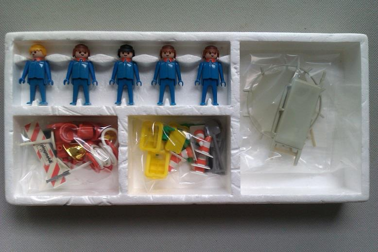 Playmobil 3228 - Firefighter Squad - Box