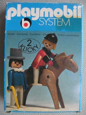 Playmobil 3174 - Rider and Gentleman - Box