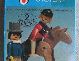 Playmobil - 3174 - Rider and Gentleman