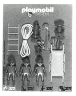 Playmobil 3214 - Firemen - Box