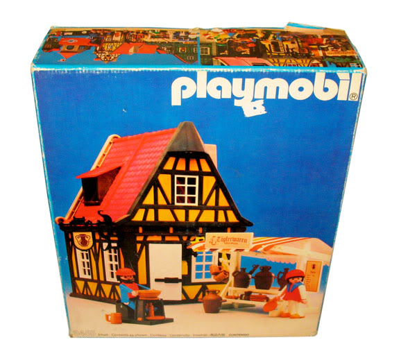 Playmobil 3455-ant - Medieval Pottery - Box